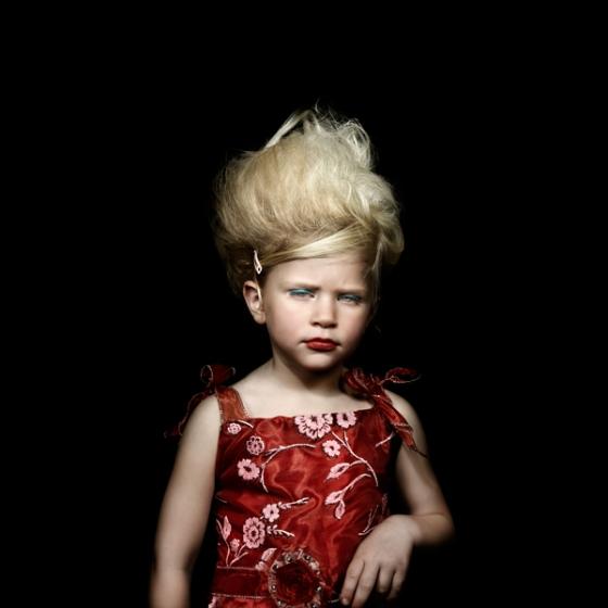 Serie dediée aux baby beauty queens